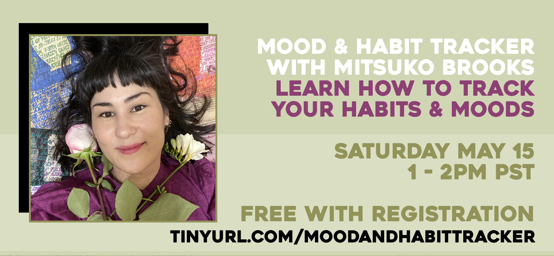 How to Survive a Quarantine: Mood and Habit Tracker with Mitsuko Brooks